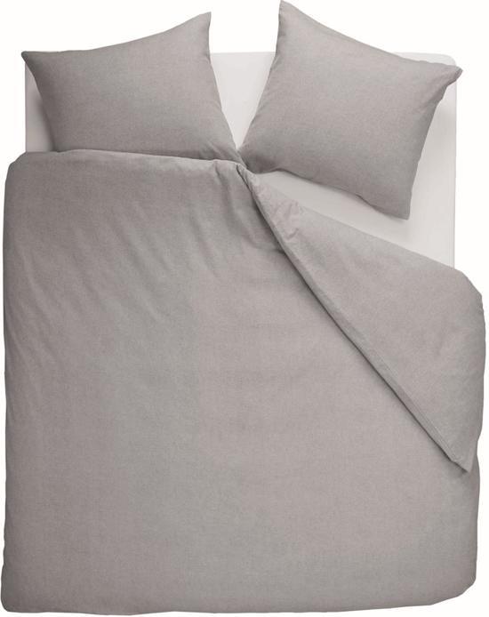 Beddinghouse Frost - Dekbedovertrek - Eenpersoons - 140x200/220 cm - Light grey