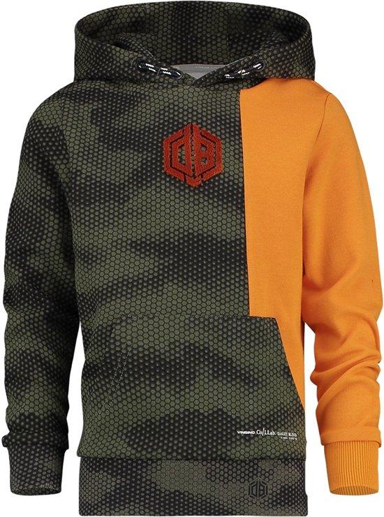 Vingino Jongens Sweater - Camouflage Green - Maat 116