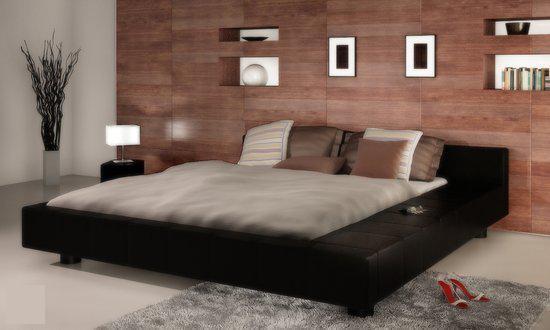 2 Persoons Spijlenbed.Bol Com Vidaxl Bed 2 Persoons Bed Futon 180 X 200 Met Matras