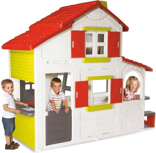smoby duplex speelhuis simba dickie speelgoed. Black Bedroom Furniture Sets. Home Design Ideas