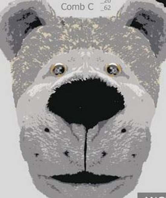 Dierenpantoffel Hond grijs Maat 43/44
