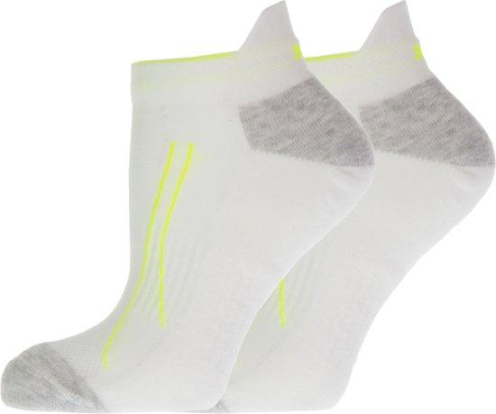 Puma Performance Sneaker Training Sportsokken Hardloopsokken - Maat 35-38 - Unisex - wit