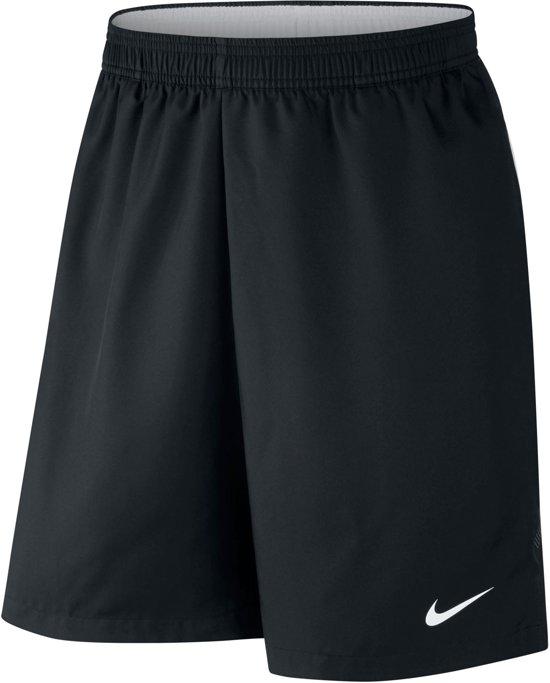 Nike Court Dry Sportbroek Maat XL Mannen zwartwit