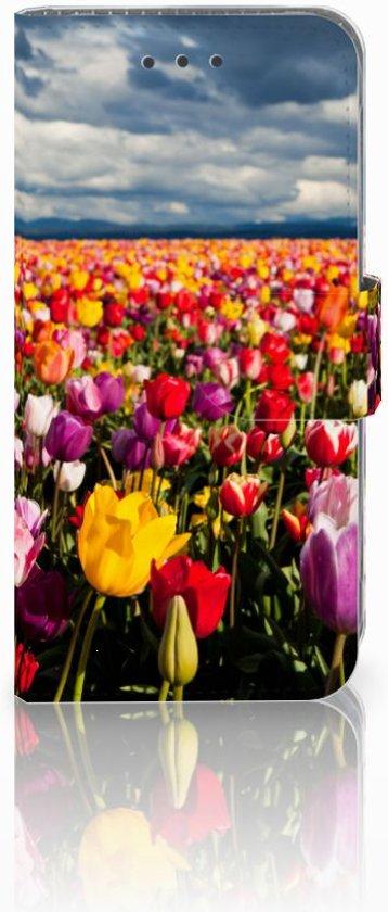Samsung Galaxy J3 2016 Uniek Boekhoesje Tulpen in Gerkesklooster / Gerkeskleaster