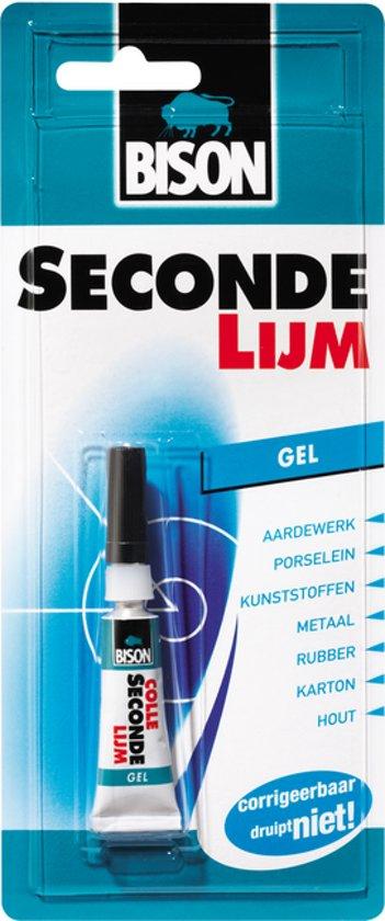 Bison Superlijm secondenlijm 3 gram