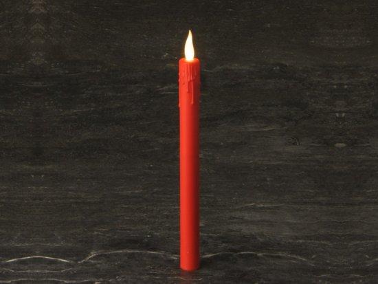 Licht Roze Kaarsen : Bol rode led kaarsen met flakkerd licht incl aa