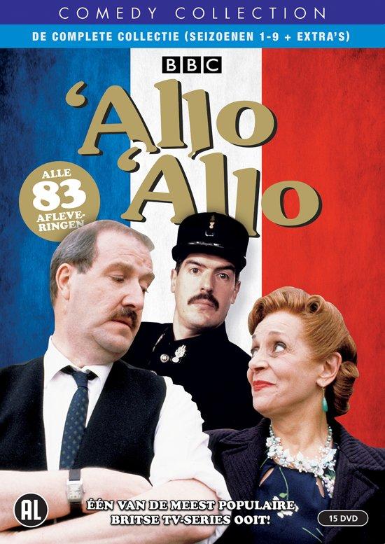 DVD cover van Allo Allo - De Complete Collectie