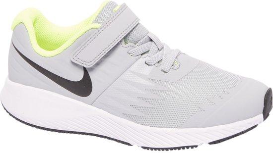 e3dfd59af48 bol.com | Nike Star Runner Sneakers - Maat 32 - Unisex - grijs/wit/geel