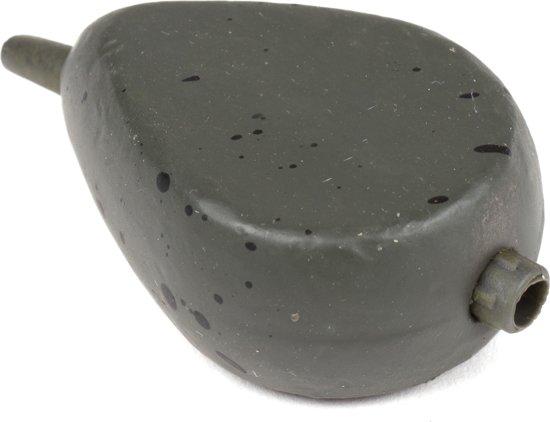 X2 Flat Inline Pear | Karperlood | Groen | 99g | 3 stuks