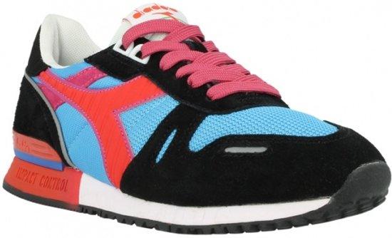 39 Ii Maat Sneaker Diadora Titan Heren Rood Blauw xZqwOX45nC