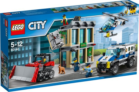 LEGO City Politie Bulldozer Inbraak - 60140