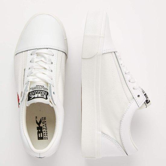 Laag Dames 38 Sneakers Platform Knights Mack British Wit Maat pwqvXF