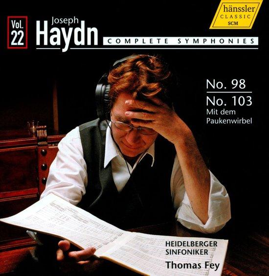 Haydn: Symphonies 98+103