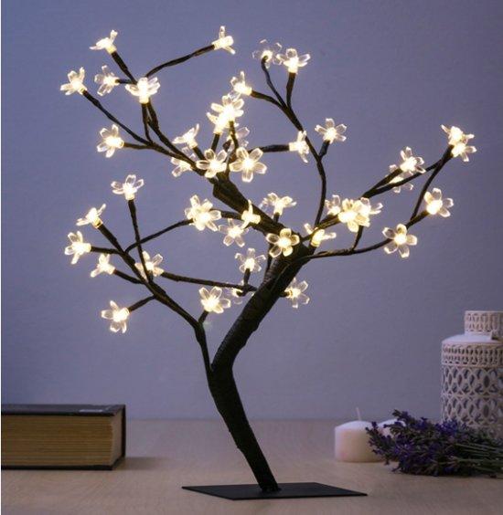 Decoratieve Boom met Bloemen - 48 LEDS