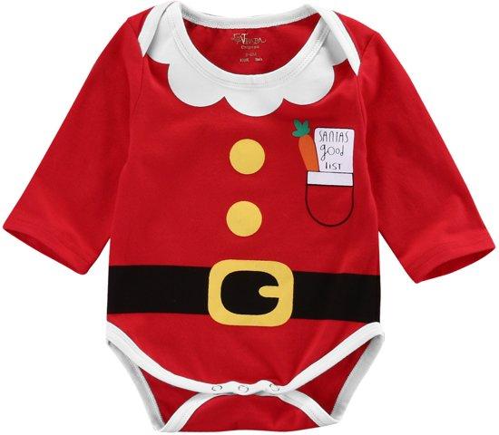 Babykleding Voor Kerst.Bol Com Kerst Romper 0 3 Maand Katoen