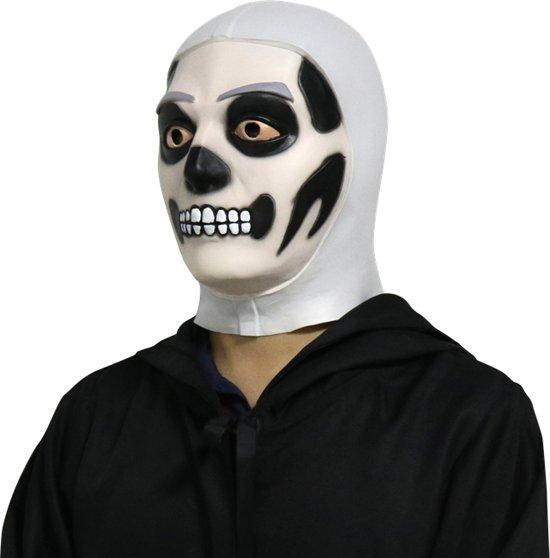 Bolcom Skull Trooper Fortnite Latex Masker Carnaval Merkloos