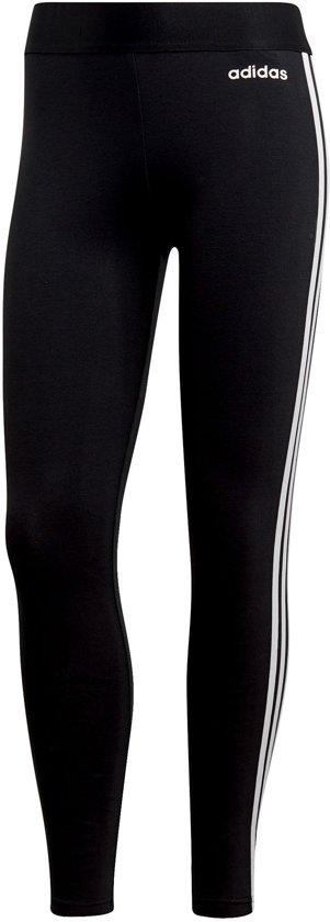 adidas W Essentials 3S Tight Dames Sportlegging - Black/White - Maat S