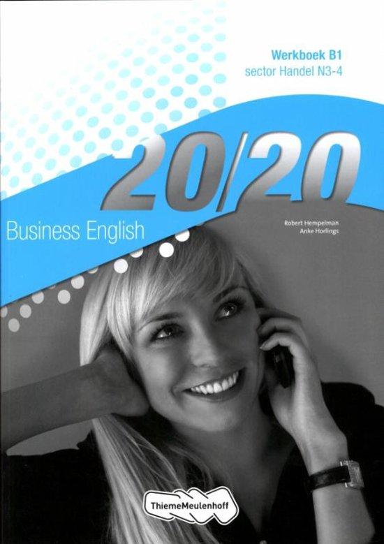 Business English Sector handel N3 4 20 20 deel Werkboek B1