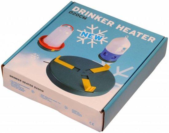 Verwarmingsplaat kunststof  30 cm