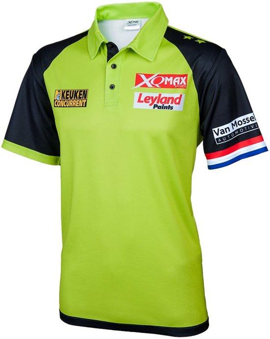 Michael van Gerwen Wedstrijd Shirt - Maat S - michael van gerwen - dartshirt