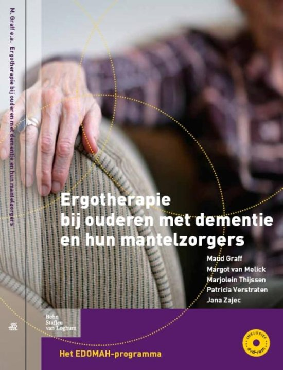 Boek cover Ergotherapie bij ouderen met dementie en hun mantelzorgers van Maud Graff (Paperback)