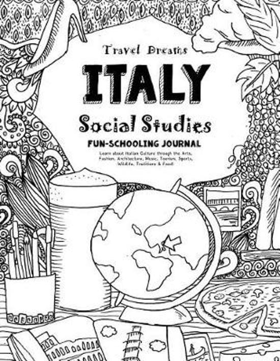 Travel Dreams Italy- Social Studies Fun-Schooling Journal