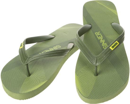 Sinner Ruteng Heren Slippers - Groen - 44