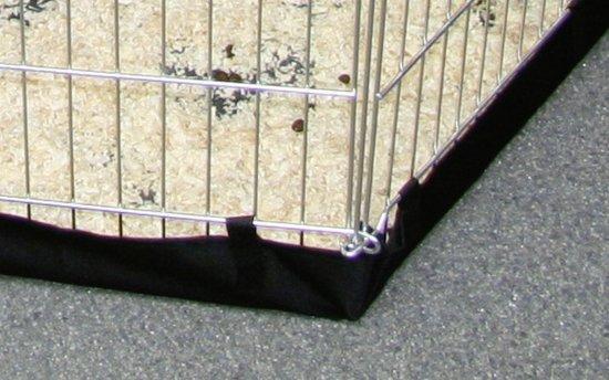 Kerbl Nylon Bodem - Voor Knaagdierenkooi Zeshoek