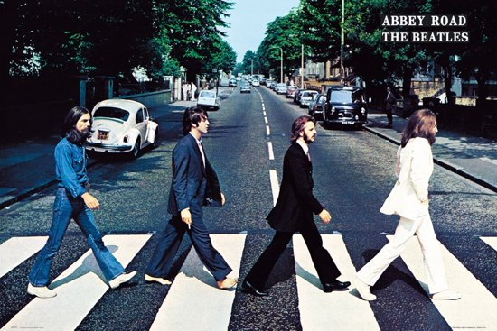 The Beatles-Abbey Road-London-poster-61x91.5cm.