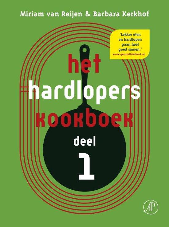 Cover van het boek 'Hardloperskookboek' van Barbara Kerkhof