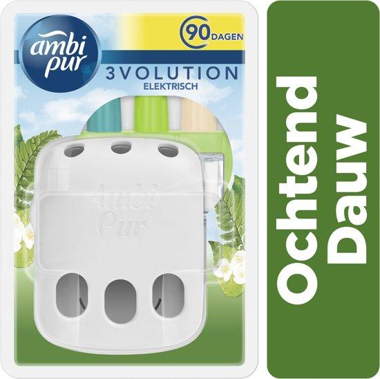 Ambi Pur Electrische Luchtverfrisser 3Volution Starterkit + Navulling Morning Dew