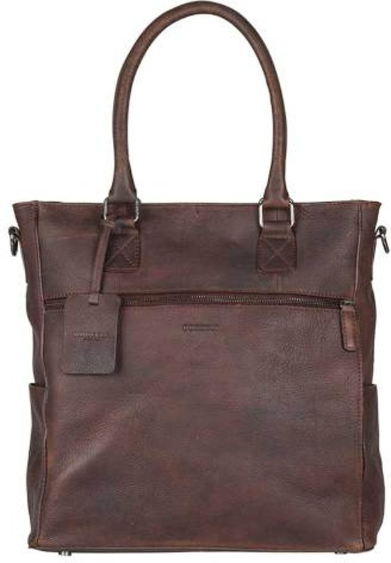 ec13a6d89fd bol.com | BURKELY Antique Avery Shopper - Shopper - Bruin