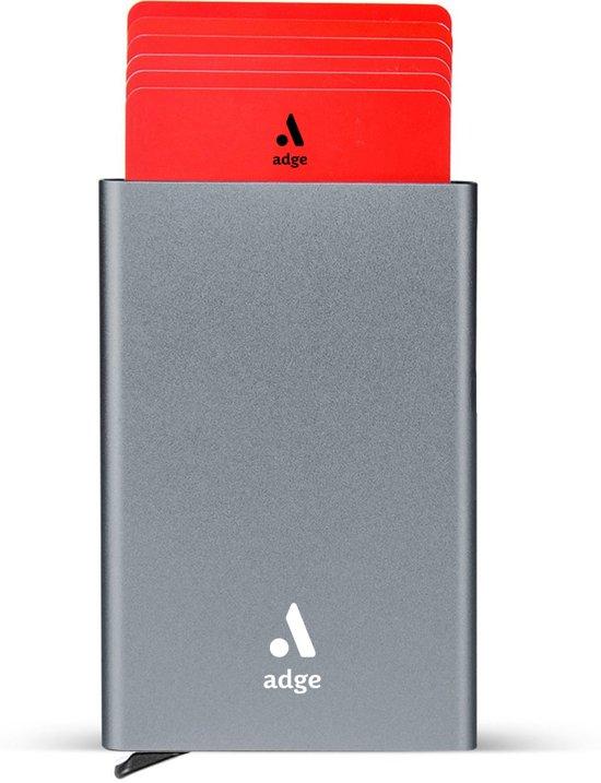 d1f688e085a Pasjeshouder / Creditcardhouder Mannen & Vrouwen - Aluminium Cardprotector  - Aluminium creditcard pasjes houder - Uitschuifbare Wallet (Grijs) - RFID  ...