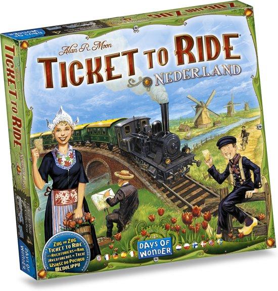 Afbeelding van Ticket to Ride Nederland - Uitbreiding speelgoed