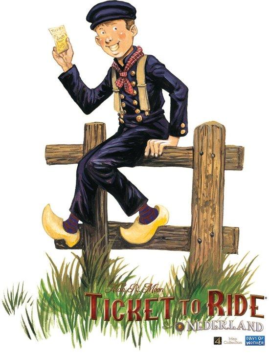 Ticket to Ride Nederland - Bordspel - Uitbreiding