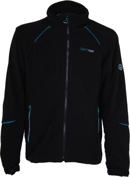 2020 releasedatum: exclusief assortiment Bjornson Asbe - Fleece Vest met Windstopper - Heren - Maat S - Zwart