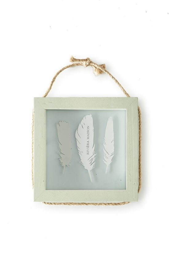 bol.com | Rivièra Maison - Pretty Feather Photo Frame Square ...