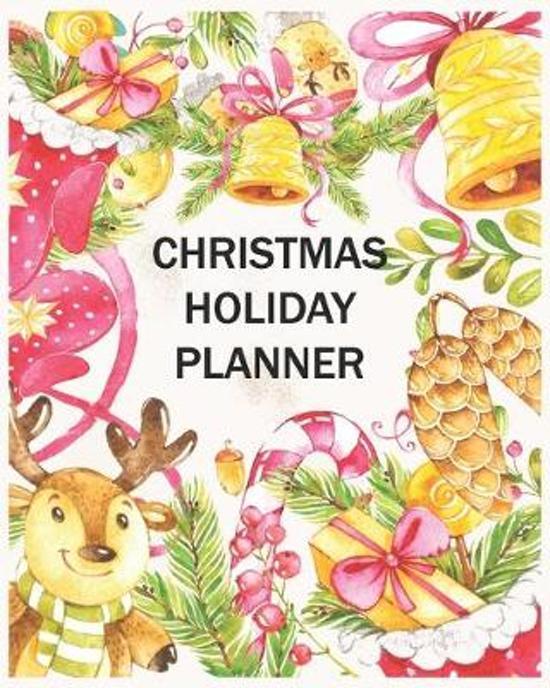 Christmas Holiday Planner: Christmas Planner Organizer, Christmas Holiday Planners Ideas, Organized Christmas Planner, Christmas Planner 44 pages