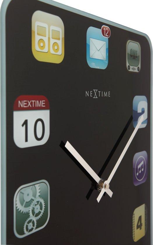 NeXtime Wallpad Wandklok 40 x 30 cm