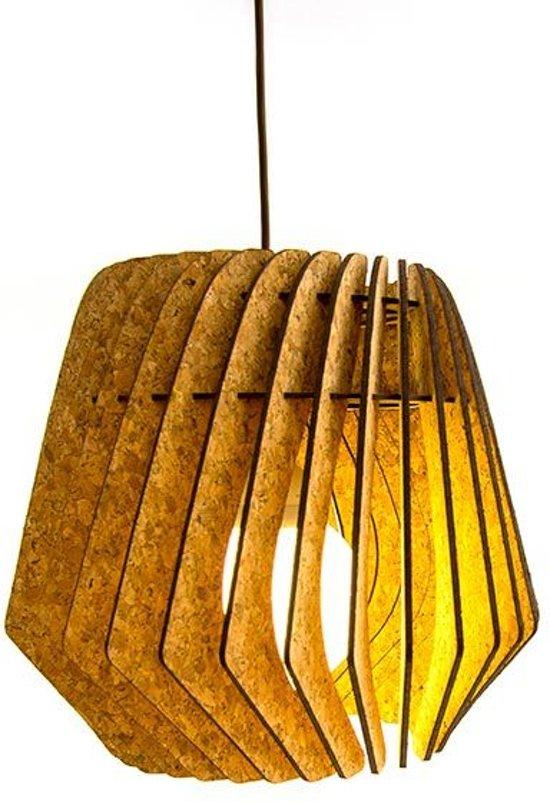 Voorkeur bol.com | Bomerango Kurk Spin lampenkap - Hout - Medium Ø 36 cm DF21