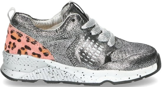 Shoesme sneaker, Sneakers, Vrouwen, Maat 35, Metallic/roze/zilver
