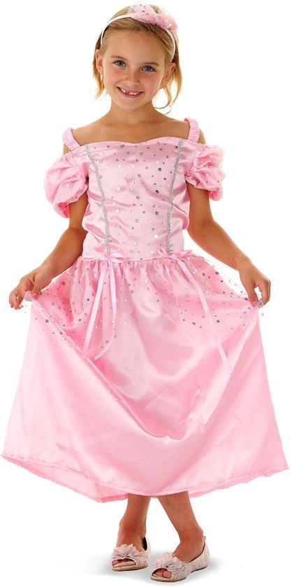 Afbeelding van Prinsessenjurk Sprookjesprinses 2delig Kindermaat 116 / 134 speelgoed