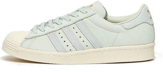bol.com | Adidas Superstar 80s Sneakers Dames Groen Maat 40 2/3