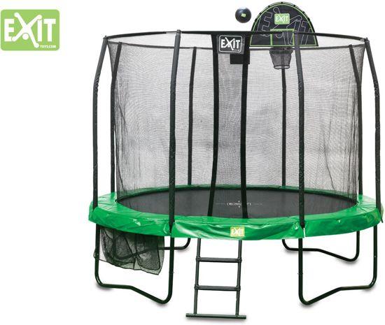 EXIT Trampoline Basket met Foam Bal