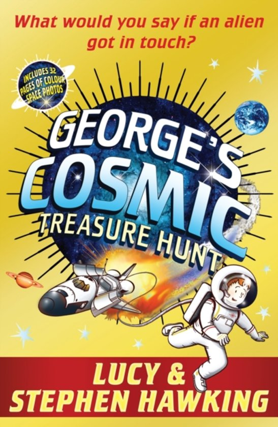 Boek cover Georges Cosmic Treasure Hunt van Lucy Hawking (Paperback)