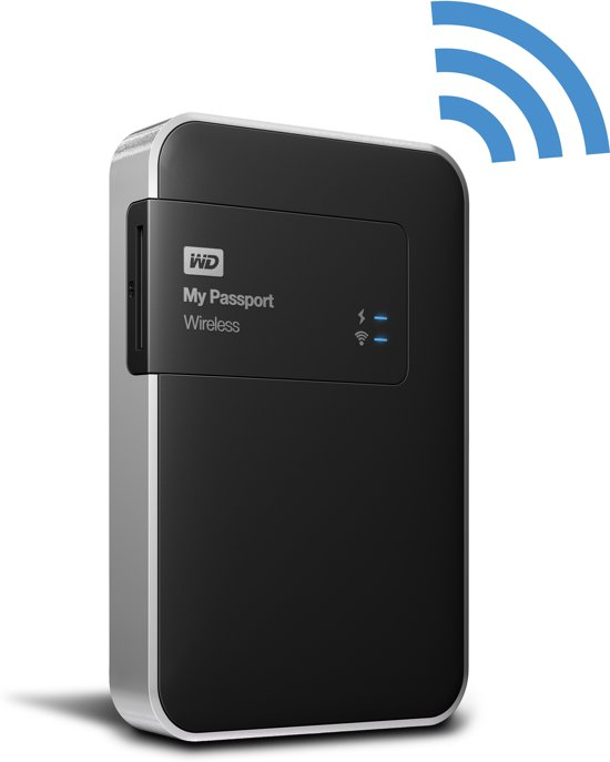 WD My Passport Wireless - Externe harde schijf - 1 TB