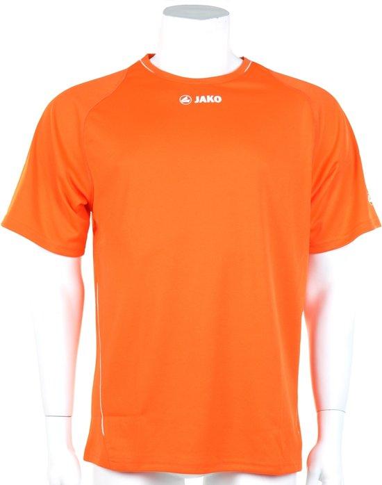 Jako Shirt Fire KM - Sportshirt - Kinderen - Maat 164 - Oranje