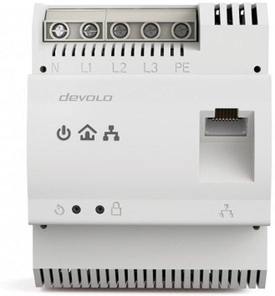 Devolo dLAN pro 1200 DINrail 1200Mbit/s Ethernet LAN Wit 1stuk(s) PowerLine-netwerkadapter