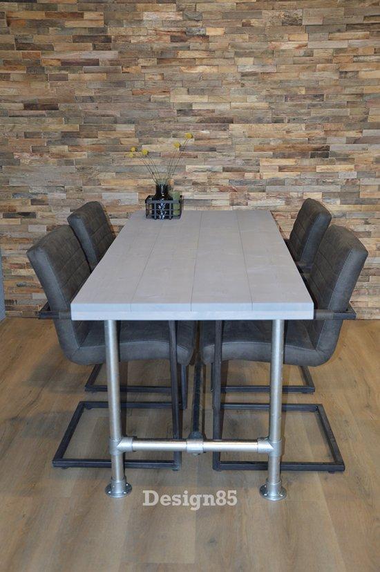 Steigerhout Steigerbuis Tafel : Bol.com design85 steigerbuis tafel natuurlijk