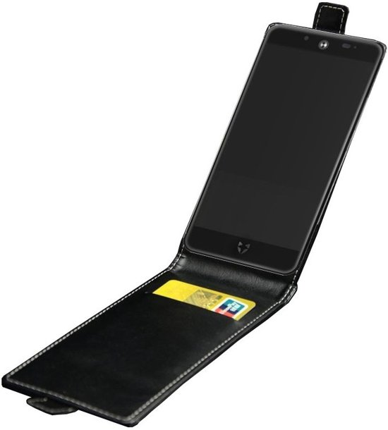 Wileyfox Swift 2 / Swift 2 Plus Flip Case - Black in Zwartsluis